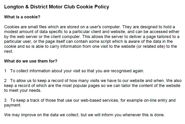 LDMC cookie policy2